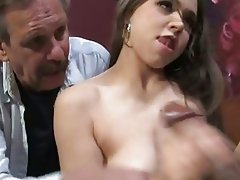 Tiffany Star enjoys black meat