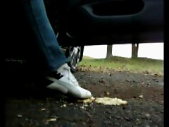 humillation puma foot worship