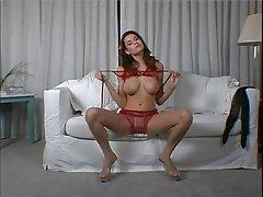red bra