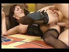 German Girl From Dildo To Anal Fuck