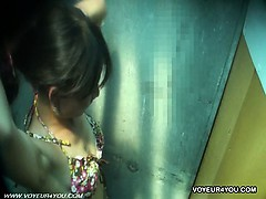 Public Shower Room Voyeur