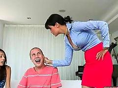 Janice Griffith Gets Caught by Dana Vespoli