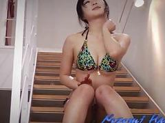 Nozomi Hatsuki looks dashing with her pussy nailed right
