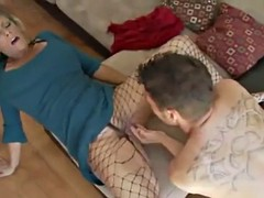 deepthroat australian step mom