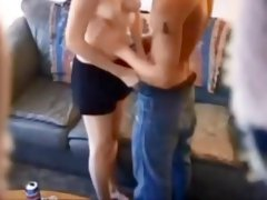 Homemade college girl hidden cam fucked boyfriend couch