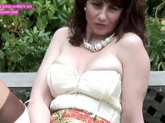 Real mature mom first time on cam