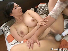 Curvy Asian Housewife Enjoying The Pleasure Of A Vibrator