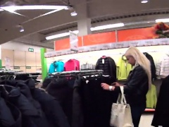 Exceptional czech nympho is seduced in the supermarket and p