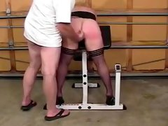 Fabulous Homemade clip with Ass, Spanking scenes