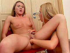 Amazing Fisting Sex with Two Beautiful Blonde Lesbians