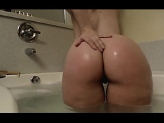 Anal big assed booty babe toyed in her sweet tight asshole