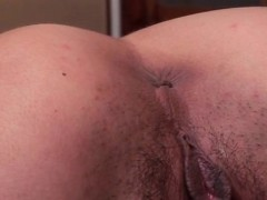 Extra wet japanese hairy pussy fingered and fucked