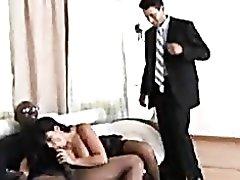 Cuckolding wives go black for fun