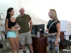 Crazy pornstar Riley Grey in Amazing Reality, Big Ass adult clip