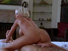 Cara Lott pounded missionary before getting facial cumshot