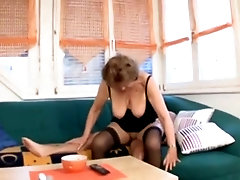 Gorgeous woolly aged lady was hardly fucked deep in the ass
