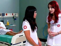 Johnny Sins nails tattooed nurse Julia Bond