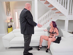 Monique Alexander fucked well up her holes by a handsome hunk