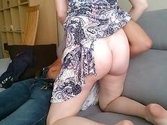 This horny cheating Polish wife fucks another man really hard