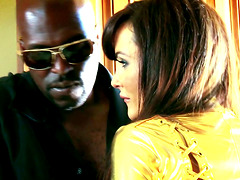 Lisa Ann Is Having Wild Group Sex With Her Black Visitors