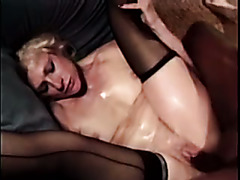 Kathy Jones is super nasty and she is no stranger to gangbang sex