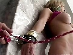 MILF cunt feeling the joys of humiliating sex BDSM movie