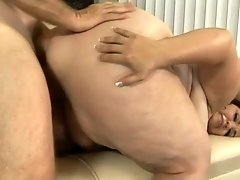 Fat whore with giant booty is quite good at some steamy doggy fuck