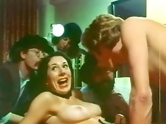 Wonderful Group Sex Scene From Vintage Porn Movie!