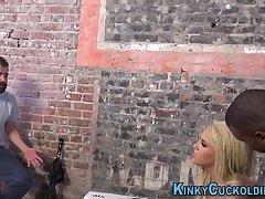 Spunked kinky cuckolder