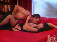 Rough sex in vintage scene with the hot brunette Ona Zee