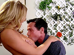 Adorable Bree Olson getting fucked right in a restaurant