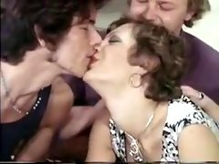 Fabulous Homemade clip with Threesome, Vintage scenes