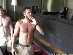 Jezabel Vessir Gets Fucked By A Trio Of White Guys