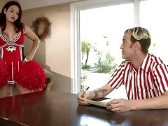 Tranny cheerleader Tori Mayes gets fucked by ugly fuck boy