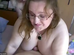 These old ladies are ridiculously naughty and they love giving oral sex