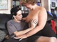 Chubby milf craves that young cock
