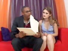 Strong interracial sex with immoral Marina Maywood