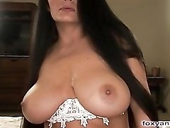 Busty Latina Fucked And Covered In Jizz