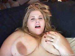 Cute BBW has lovely big tits