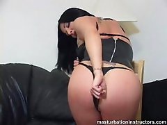 Jerk off teacher wants to have your cock in her behind