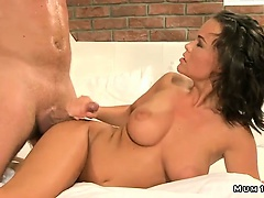 Hor brunette mom fuck in every position