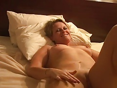 Hot Blonde MILF Double-Penetrated By 2 BBC