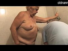 Granny 86yo is prepared to fucking of mature woman